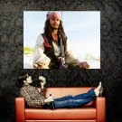 Pirates Of The Caribbean Jack Sparrow Huge 47x35 Print POSTER