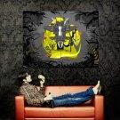 Cool Tribal Mask Monkey Art Style Huge 47x35 Print POSTER