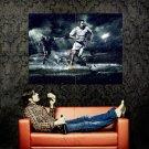 Franck Ribery Rain Night Sport Huge 47x35 Print POSTER