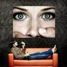 Silence Face Eyes Close Cool Huge 47x35 Print POSTER