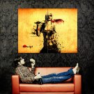 Zombie Girl Blood Blade Art Huge 47x35 Print Poster