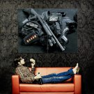 SWAT Equipment Shotgun Weapon Huge 47x35 Print POSTER