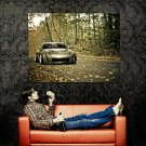 Nissan 350Z Autumn Fall Car Auto Huge 47x35 Print POSTER