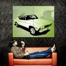 Chevrolet Camaro SS Art Muscle Car Auto Huge 47x35 Print POSTER