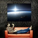 Space Station Earth Stars Sun Huge 47x35 Print POSTER