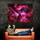 Nebula Stars Galaxy Hubble Space Huge 47x35 Print POSTER