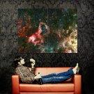 Nebula Stars Galaxy Hubble Space Huge 47x35 Print POSTER