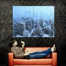 Snowstorm Winter New York Skyscrapers POSTER