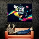 Radio Free Haskell Art Abstraction Huge 47x35 Print Poster