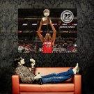 James Jones Trophy Miami NBA 2011 Huge 47x35 Print Poster