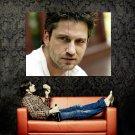 Gerard Butler Hot Portrait Actor Huge 47x35 Print Poster