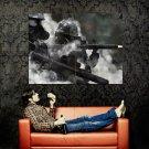 Gas Masks Military War Infantry Huge 47x35 Print Poster
