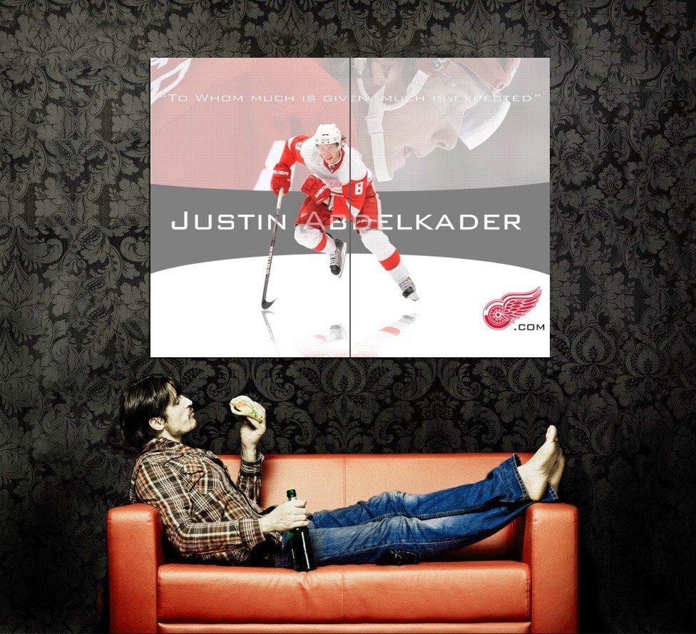 Justin Abdelkader Red Wings NHL Huge 47x35 Print Poster