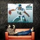 Hank Baskett Philadelphia Eagles NFL Huge 47x35 Print Poster
