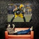 Clay Matthews Green Bay Packers NFL Huge 47x35 Print Poster