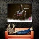 DaJuan Summers Detroit Pistons NBA Huge 47x35 Print Poster