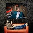 Dirk Nowitzki Dallas Mavericks NBA Huge 47x35 Print Poster