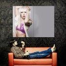 Lady Gaga Hot Music New Huge 47x35 Print Poster