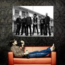 Linkin Park Black White New Huge 47x35 Print Poster
