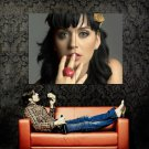 Katy Perry Shiny Eyes Print Huge 47x35 POSTER
