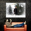 X Files Fox Mulder Movie Art Print Huge 47x35 POSTER