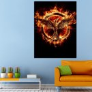 The Hunger Games Catching Fire Movie Fantasy Huge 47x35 Print POSTER