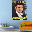 Clark Gable Actor Photoplay Cover Huge 47x35 Print POSTER