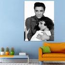 Rock And Roll Actor Elvis Presley Singer Huge 47x35 Print POSTER