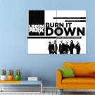 Burn It Down Linkin Park Music Rock Huge 47x35 Print POSTER