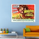 Monster On Campus Joanna Moore Arthur Franz Huge 47x35 Print POSTER