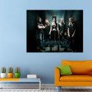 Evanescence Rock Music Alternative Amy Lee Huge 47x35 Print POSTER