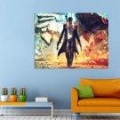 Devil May Cry Game Slasher Dante Limbo City Huge 47x35 Print POSTER