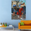 Earth Art Men Polynesia Huge 47x35 Print POSTER