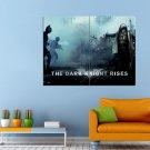 Tom Hardy Christian Bale Dark Knight Rises Movie Huge 47x35 Print POSTER