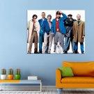 Snatch Bred Pitt Jason Statham Movie Huge 47x35 Print POSTER
