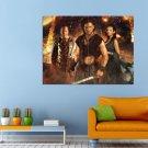 Pompeii Kit Harington Emily Browning Movie Huge 47x35 Print POSTER