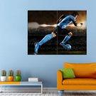 Lionel Messi Argentina Sport Football Barselona Huge 47x35 Print POSTER