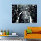The Walking Dead Zombies Rick Glen Carl Huge 47x35 Print POSTER