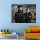 Sherlock Movie Holms Watson Huge 47x35 Print POSTER