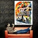 Satan S Satellites Retro Movie Vintage Huge 47x35 Print Poster