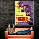 Psycho 1960 Alfred Hitchcock Retro Movie Huge 47x35 Print Poster