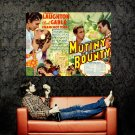 Mutiny On The Bounty 1935 Retro Movie Huge 47x35 Print Poster