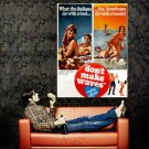 Don T Make Waves Retro Movie Vintage Huge 47x35 Print Poster
