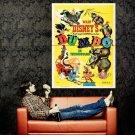 Dumbo 1941 Retro Movie Vintage Huge 47x35 Print Poster