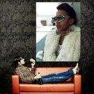Ebony Utley Hip Hop Music Singer Huge 47x35 Print Poster