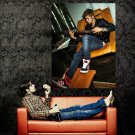 Justin Bieber Guitar Pop Music Singer Huge 47x35 Print Poster