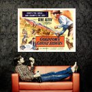 Goldtown Ghost Riders Retro Movie Vintage Huge 47x35 Print Poster