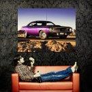 Plymouth Cuda Muscle Car Huge 47x35 Print Poster