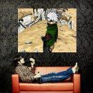 Kakashi Hatake Naruto Anime Art Huge 47x35 Print Poster