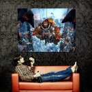 Lost Planet 3 Jim Peyton Video Game Art Huge 47x35 Print Poster
